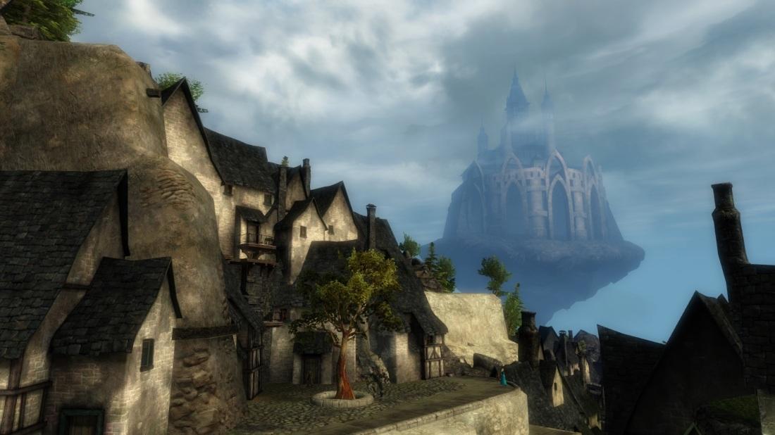 Beautiful castle in the sky!