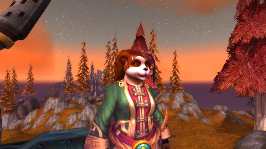 My super cute Pandaren Priest. =)
