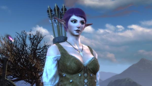 My new Hunter on the Faeblight server.
